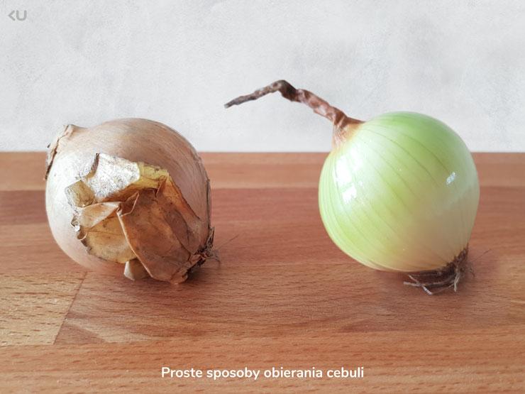 Jak łatwo obrać cebulę?